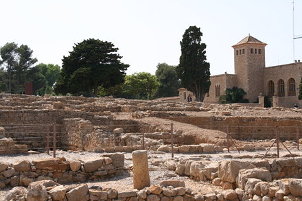 The ruins of Empúries