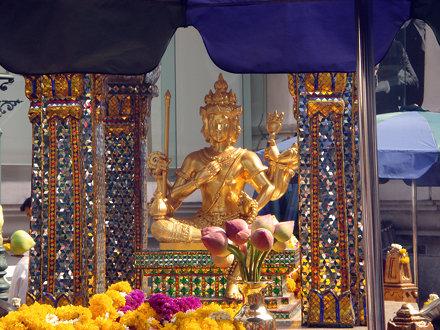 Erawan Shrine - the famed 4-faced Brahma