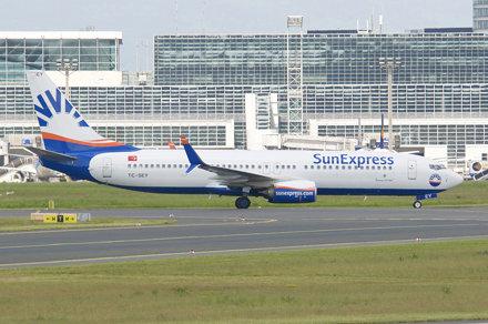 SunExpress Boeing 737-800; TC-SEY@FRA;15.05.2018