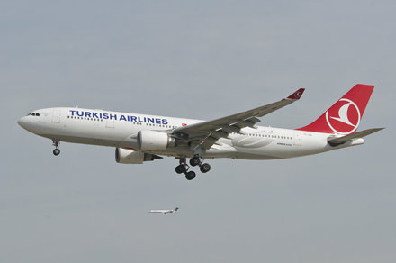 Turkish Airlines Airbus A330-200; TC-JNE@FRA;04.08.2015/799cb