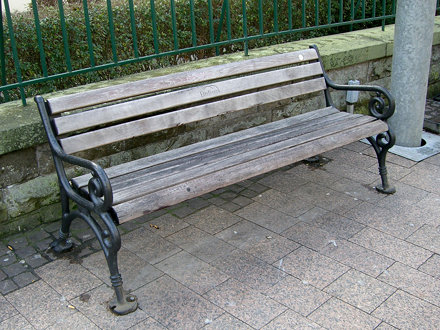Town bench