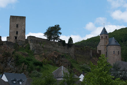 Kasteelruïne  Esch-sur-Sûre 3