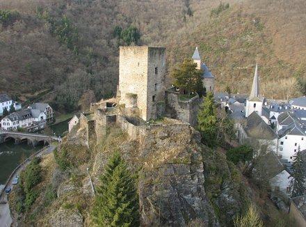 Le château d'Esch-sur-Sûre