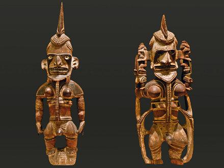 Statues Uli (musée de Dahlem, Berlin)