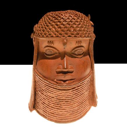 Tête d'un Roi Oba (Musée africain de Dahlem/Berlin)