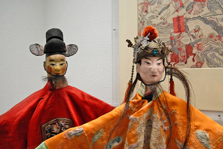 Marionnettes chinoises (musée d'ethnographie, Berlin)