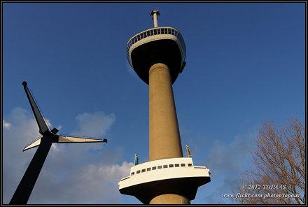2012-01-02 Rotterdam - Euromast - 1