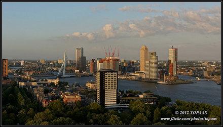 2012-06-16 Rotterdam - Uitzicht vanaf de Euromast - 5
