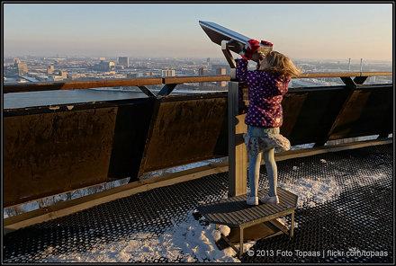 2013-01-16 Kimmy op de Euromast - 2
