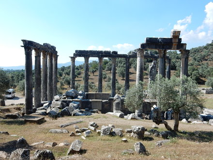 One of Turkey's best preserved classical temples