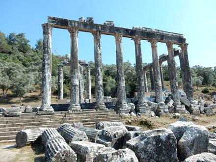 Temple of Zeus near Euromos