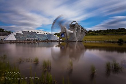 Falkirk Wheel Reflections