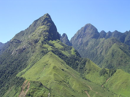 Fansipan moutain