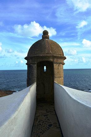 Torre de Vigia do Farol de Santo Antonio da Barra em Salvador - Bahia