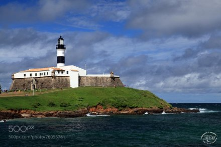 Barra Lighthouse, Salvador, Brazil