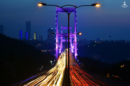Fatih Sultan Mehmet Bridge - Istanbul