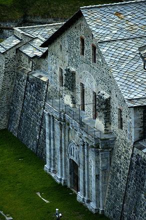 Fortezza Fenestrelle #11 - La porta reale