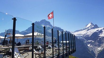 First Ski Resort, Cliff Walk, Grindelwald Switzerland