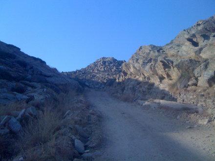 Jogging scenery