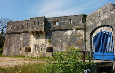 Ile d' Oléron, fort des Saumonards