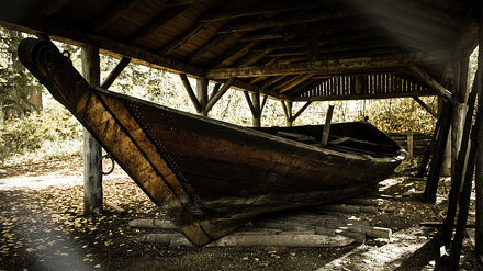 York Boat in the Woods