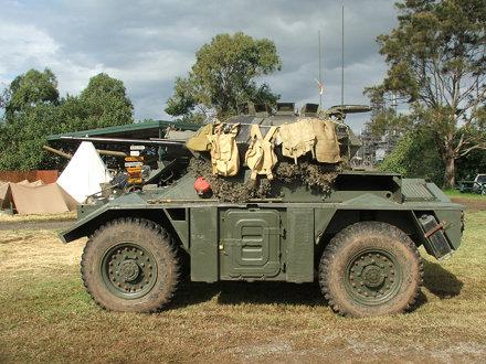 Scout car.