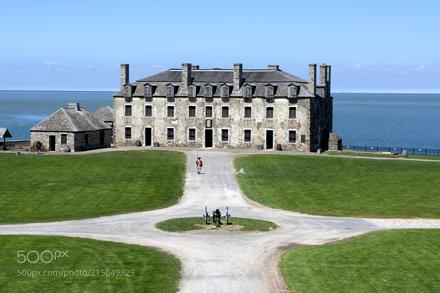 Old fort Niagara - On gaurd