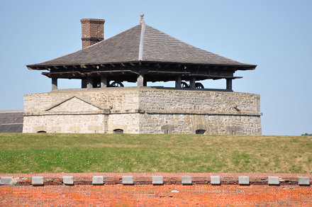 Watch tower in Fort Niagara