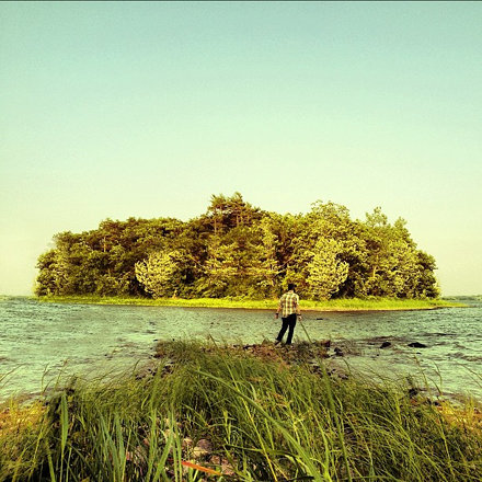 The Island #selfportrait #gorillapod