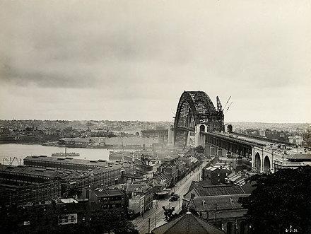 Sydney Harbour Bridge, 1931