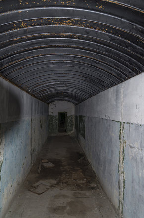 Inside Fort VIII of Brest Fortress, 05.05.2014.