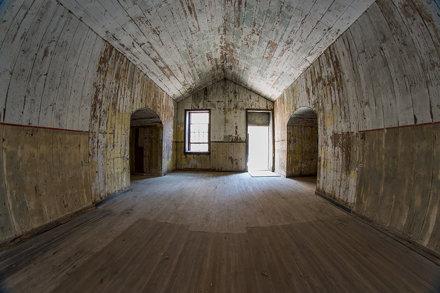 Wood Room Wide Angle