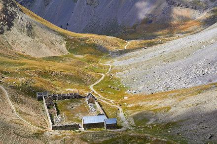 Baraquement de Viraysse (2503 m)