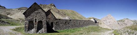 panoramica caserma de la Viraysse - Larche