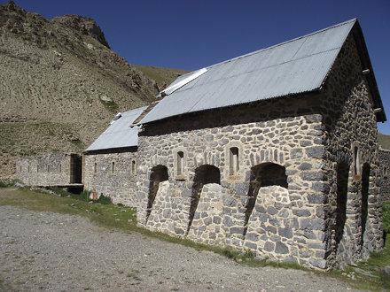 particolare caserma de la Viraysse - Larche