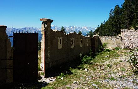Briançon, blockhaus de la Seyte