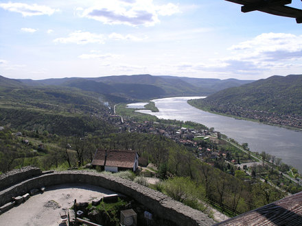 View of Danube from Visegrád