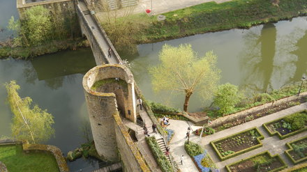 Luxembourg, Mur de Wenceslas [05.04.2014]