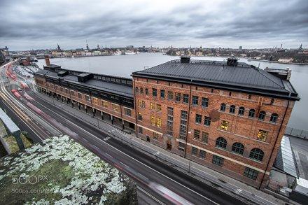 Fotografiska and a view of Stockholm, Sweden