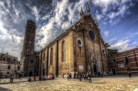 Venezia : S. Maria dei Frari - 12