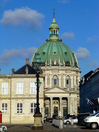 Kopenhagen - Frederik Kirche oder auch Marmorkirche