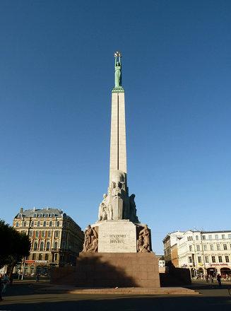 Brīvības piemineklis in Rīga