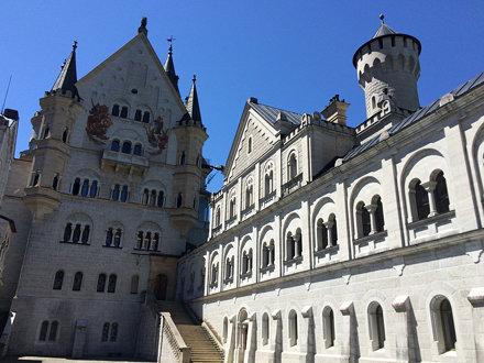 2017 - Day 13, Lindau, Lake Bodensee, Fussen, Neuschwanstein and Hohenschwangau Castles, Weiskirche,