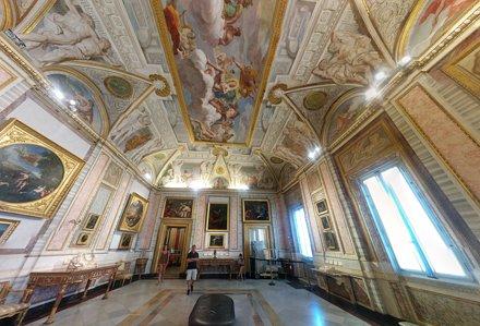 Galleria Borghese Ceilings