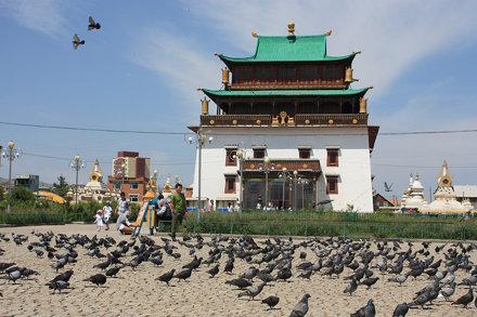 Gandantegchinlen Monastery, Ulaanbaatar