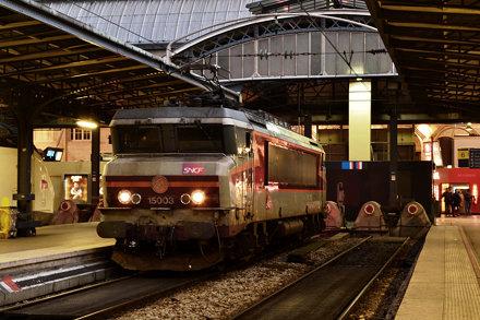 SNCF BB 15003 te Paris Est
