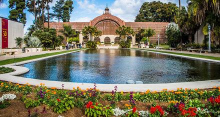 2014 - San Diego - Balboa Park - Laguna de las Flores