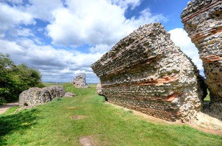 Burgh Castle, Norfolk - a former Roman fort