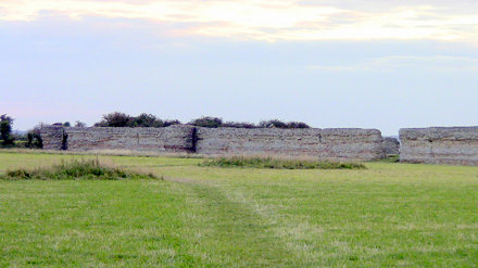 Burgh Castle  - Roman Fort - Norfolk
