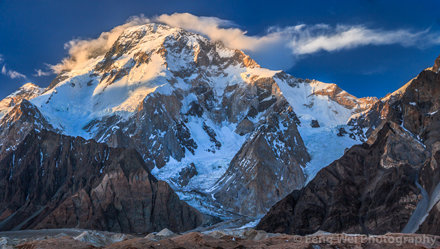Broad Peak, Concordia, Central Karakoram National Park, Gilgit-Baltistan, Pakistan